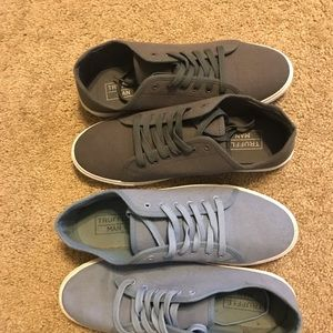 2 pairs of asos truffle shoes size 12.5
